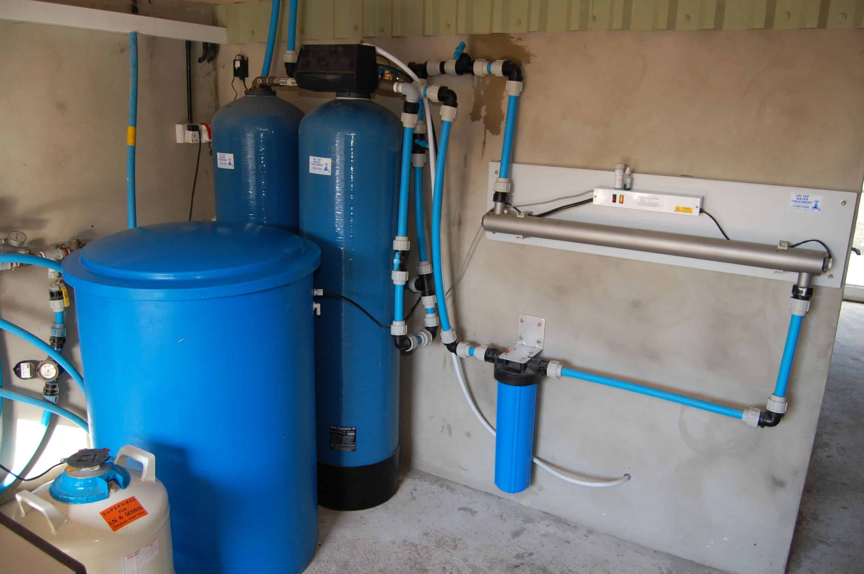 Domestic And Commercial Water Softeners From On Tap Water